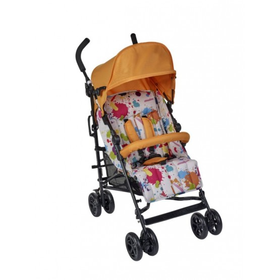 PLEBANI - Passeggino Carty Pop Edition Col. Arancio