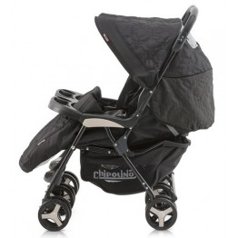 Passeggino Gemellare Duet Twin CHIPOLINO black